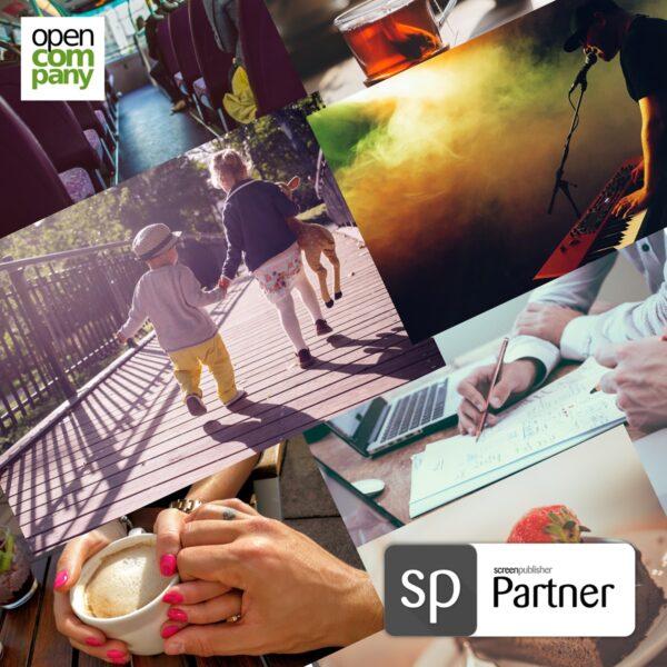 Open Company er Premium Screenpublisher partner