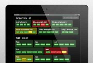 Systemovervågning baseret på Nagios - overblik over system- og netværksstatus via browser eller app