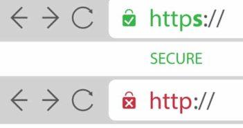 Open Company hjælper med at sikre jeres website med SSL certifikat, så browserne viser hjemmesiden som sikker at anvende
