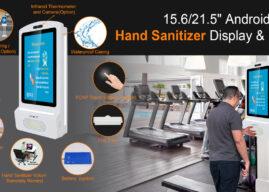 Hand Sanitiser station